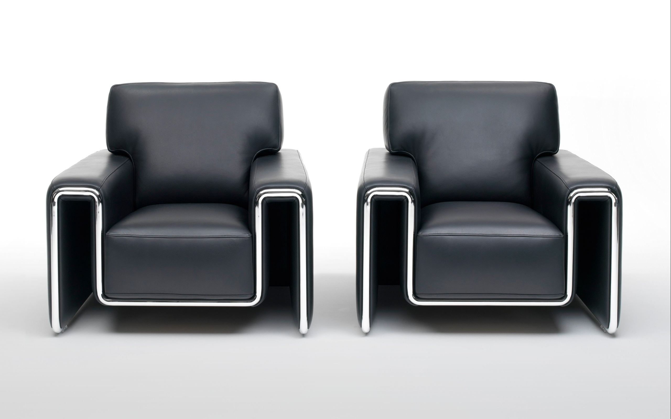 2560x1600 Black armchairs desktop PC and Mac wallpaper