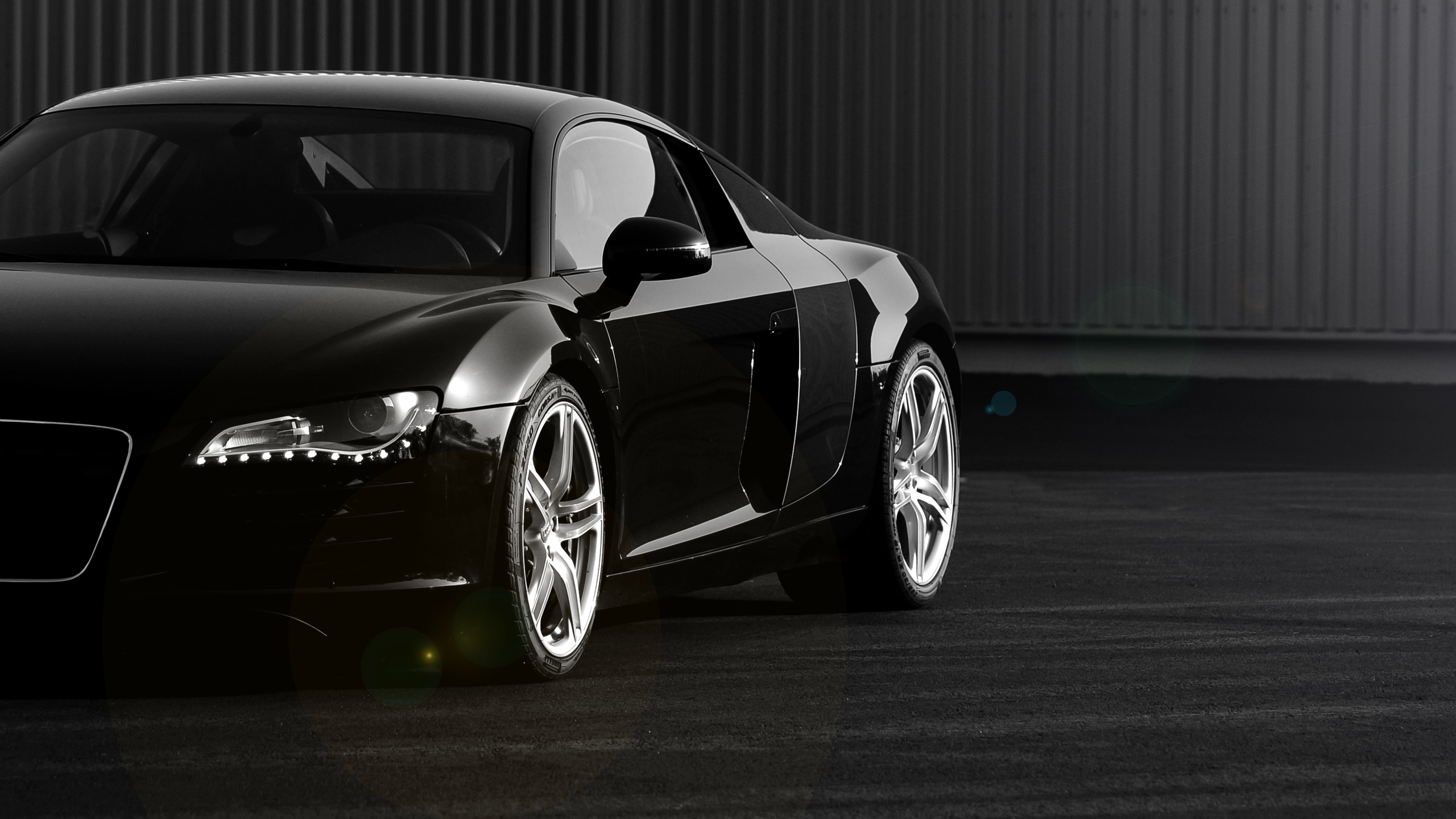 2560x1440 Black Audi R8 Section Desktop Pc And Mac Wallpaper