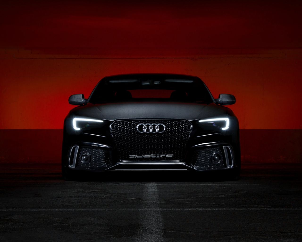 1280x1024 Black Audi S5 Desktop Pc And Mac Wallpaper