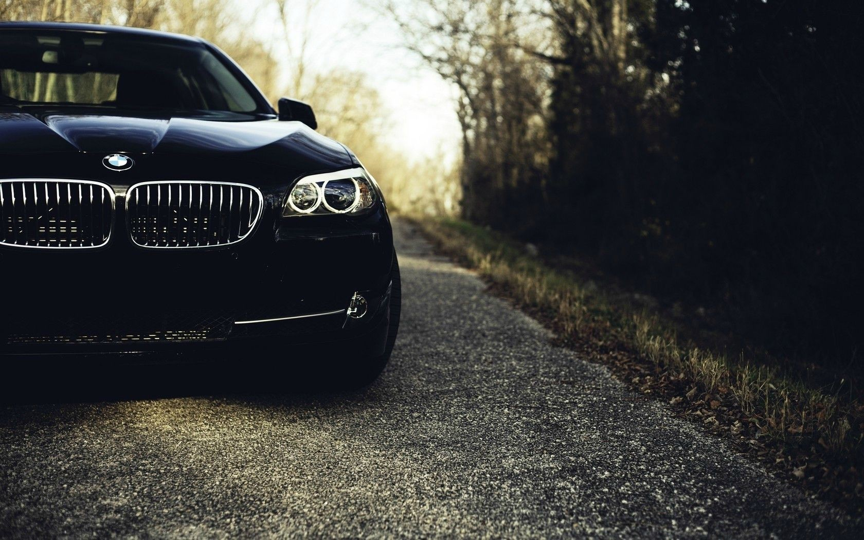 Black Bmw 5 Series Section Wallpapers Black Bmw 5 Series
