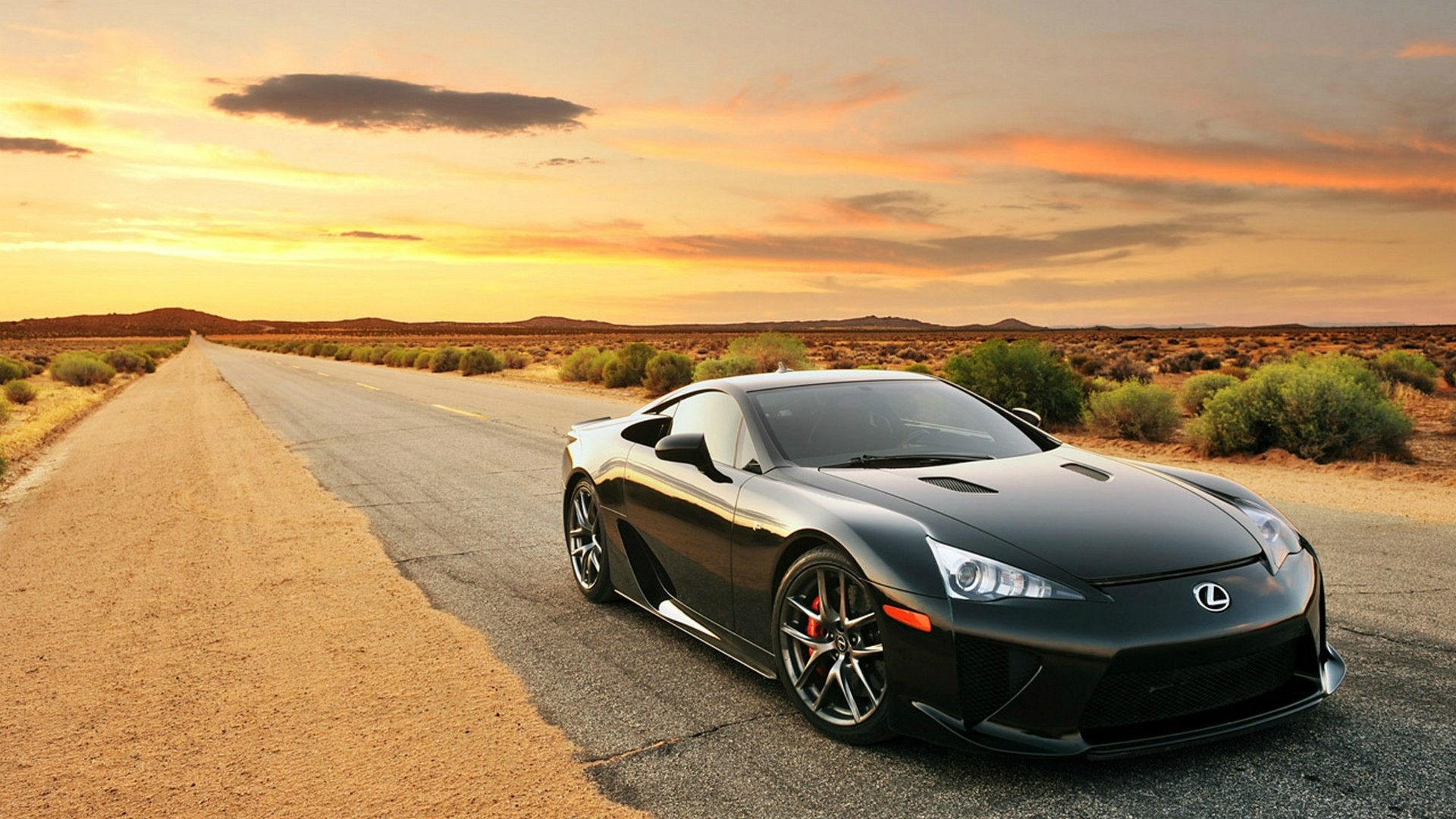 1920x1080 Black Lexus Lfa Desert Road Desktop Pc And Mac HD Wallpapers Download free images and photos [musssic.tk]