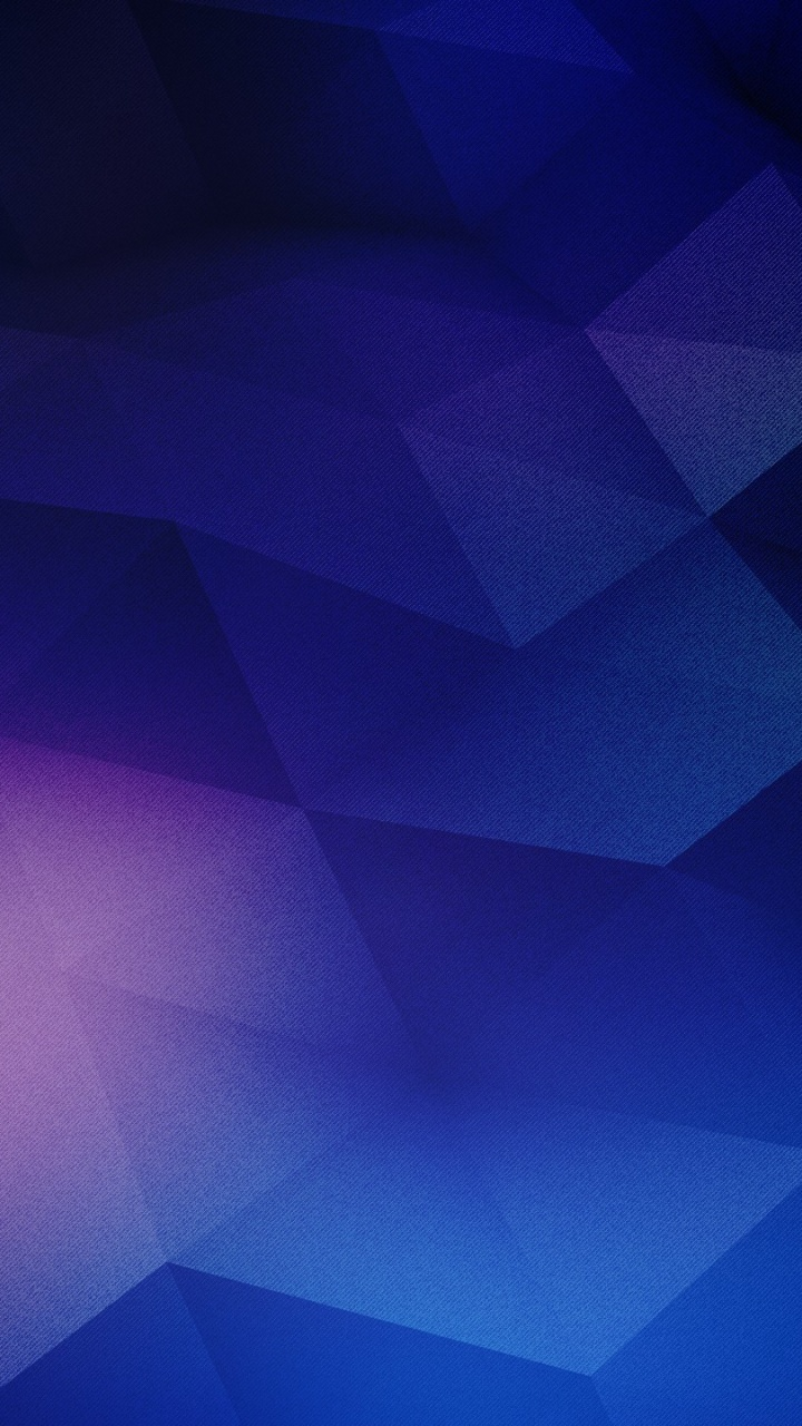720x1280 Blue Amp Purple Geometric Shapes Galaxy S3 Wallpaper