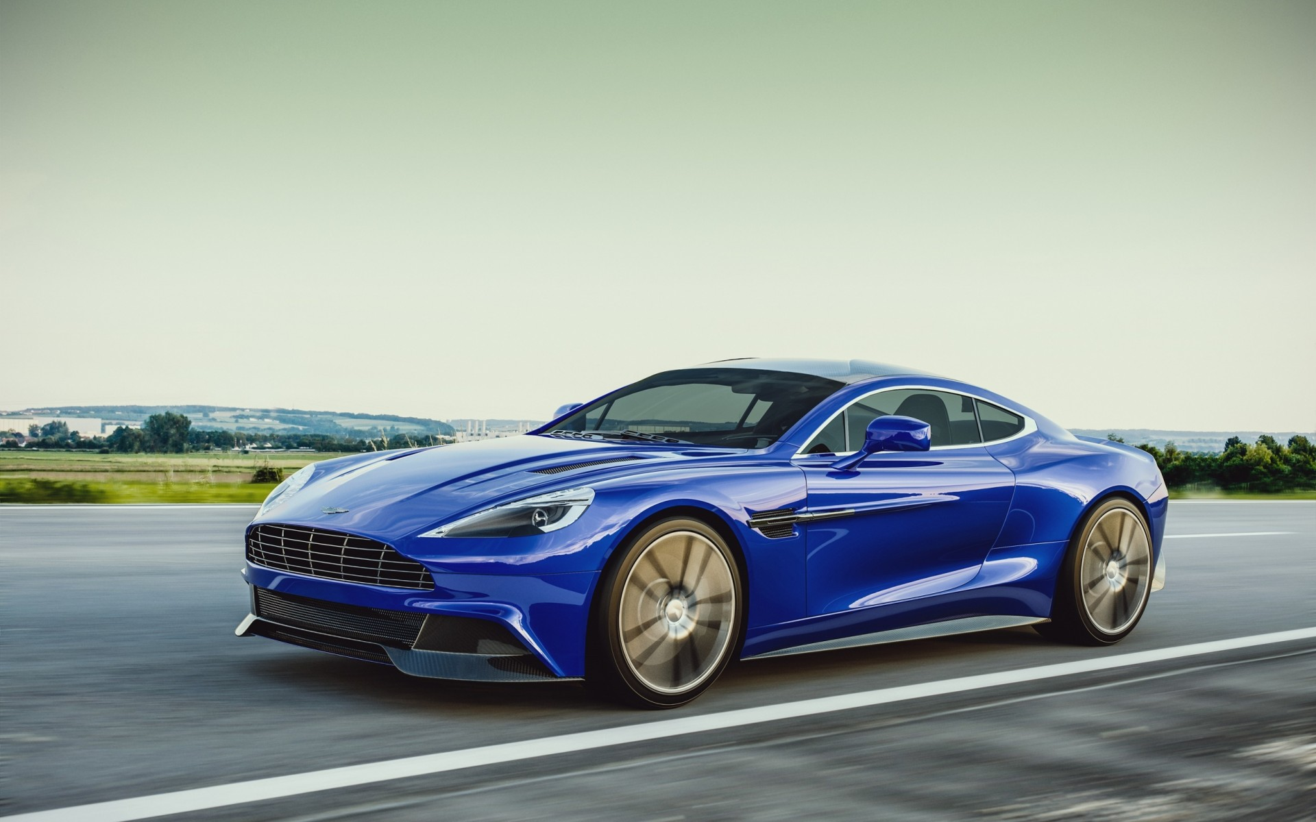 Blue Aston Martin Vanquish On wallpapers | Blue Aston ...Aston Martin Vanquish Blue