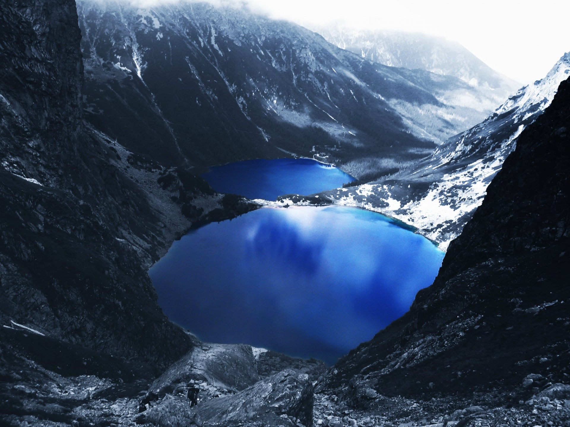 1920x1440 Blue Lake Mountains desktop wallpapers and stock photos
