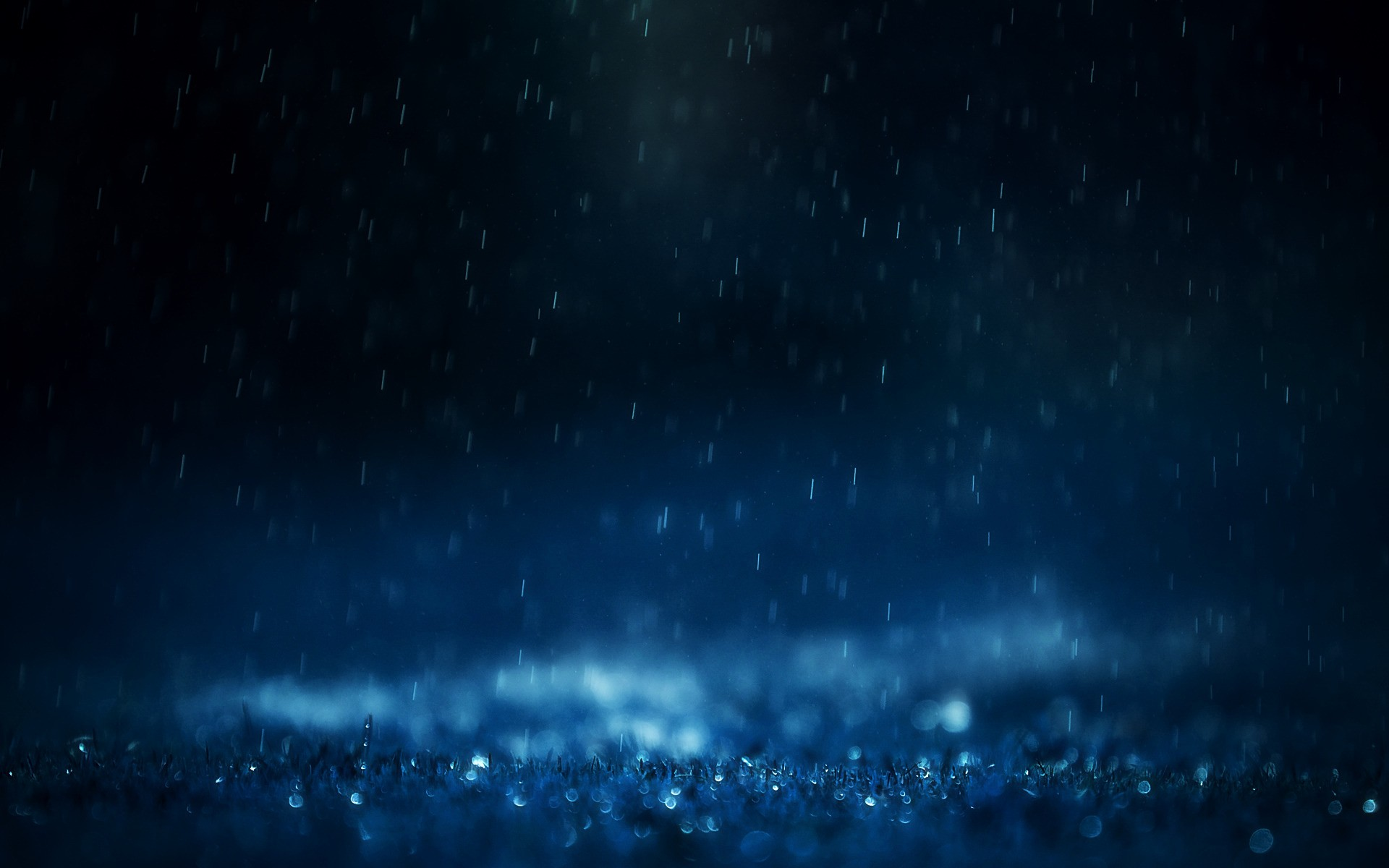 Blue Rain Wallpapers  Stock Photos