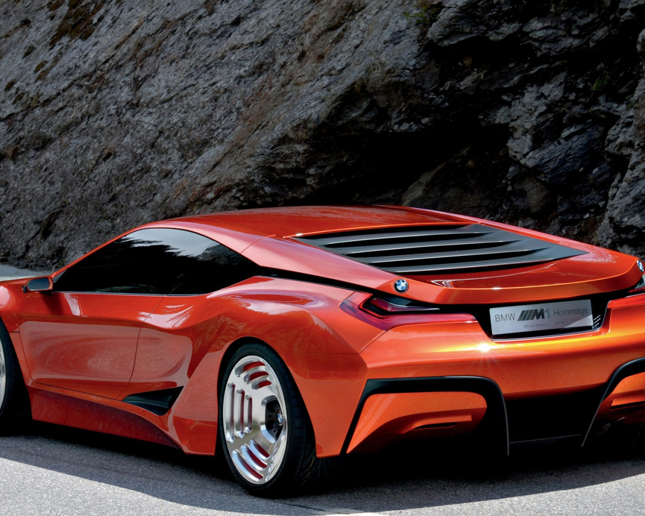 1280x1024 Bmw M1 Hommage 12 Desktop Pc And Mac Wallpaper
