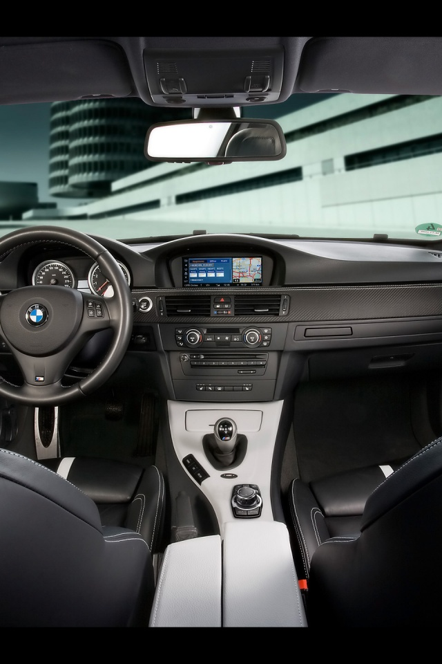 640x960 Bmw M3 Dashboard Iphone 4 Wallpaper