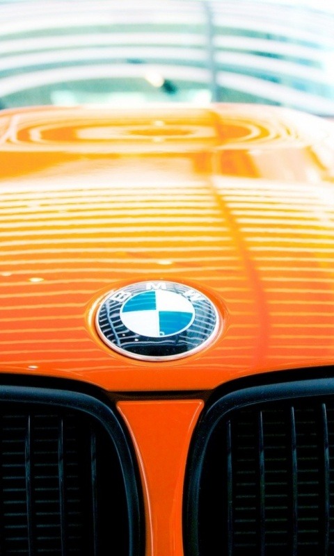 480x800 Bmw M3 Gts Bonnet Desktop Pc And Mac Wallpaper