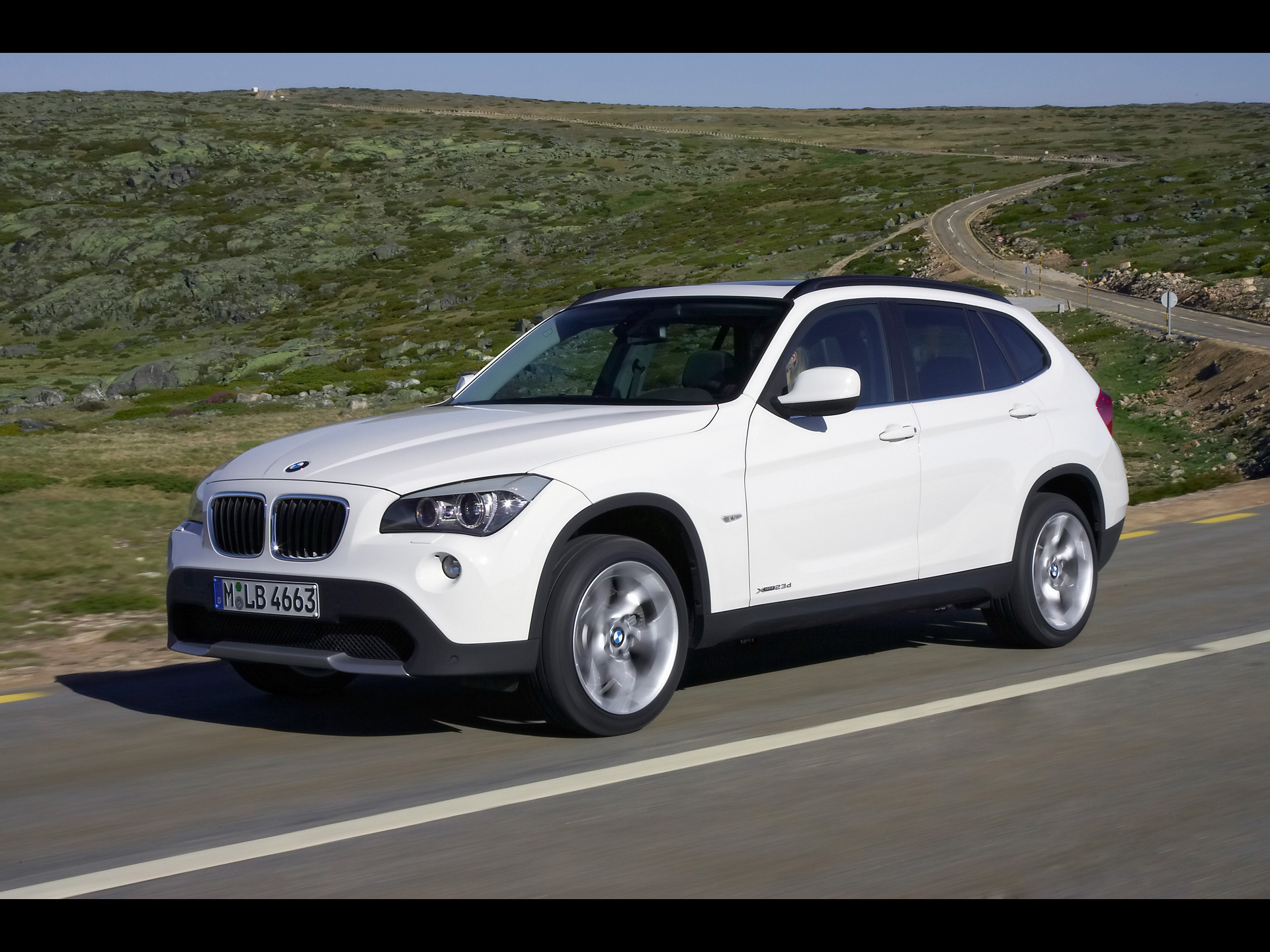 1920x1440 Bmw X1 Front And Side Speed White Desktop Pc And Mac Wallpaper