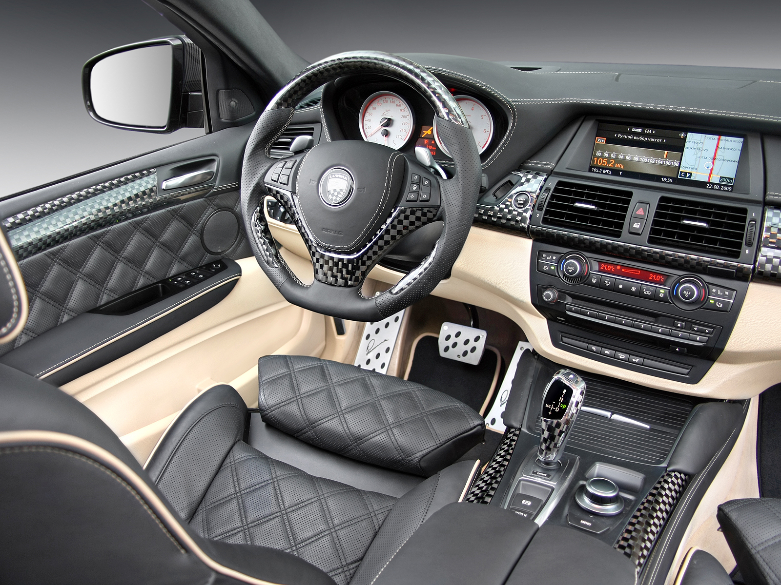 1600x1200 Bmw X6 Carbon Interior Desktop Pc And Mac Wallpaper