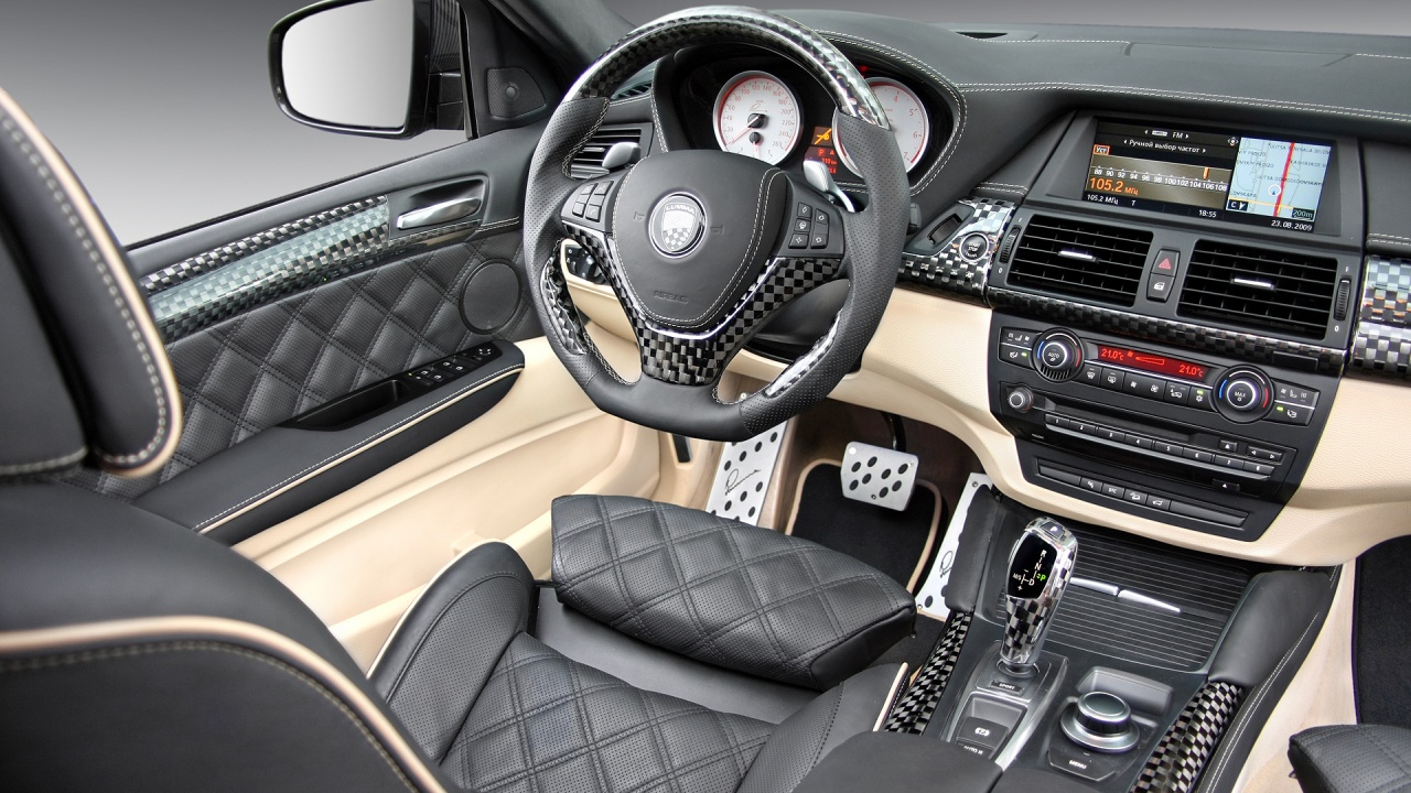 1280x720 BMW X6 Carbon Interior Desktop PC And Mac Wallpaper