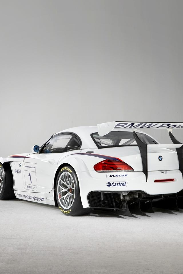 640x960 Bmw Z4 Gt3 Coupe Iphone 4 Wallpaper