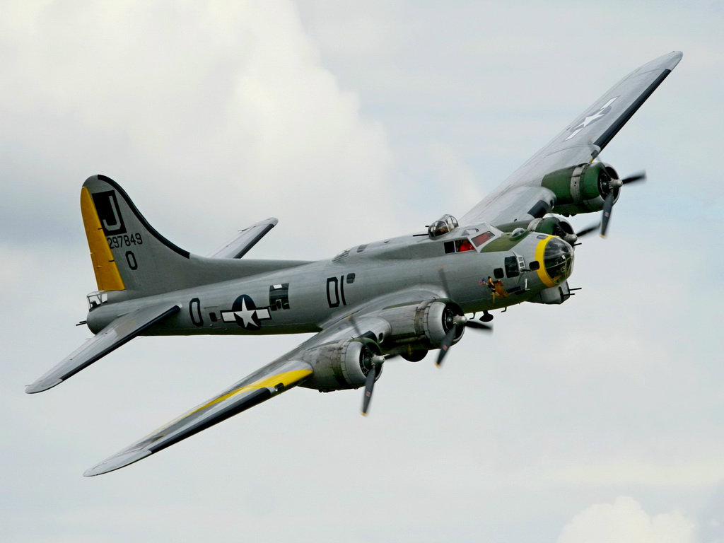 1024x768 Boeing B-17G Flying Fortress desktop PC and Mac ...