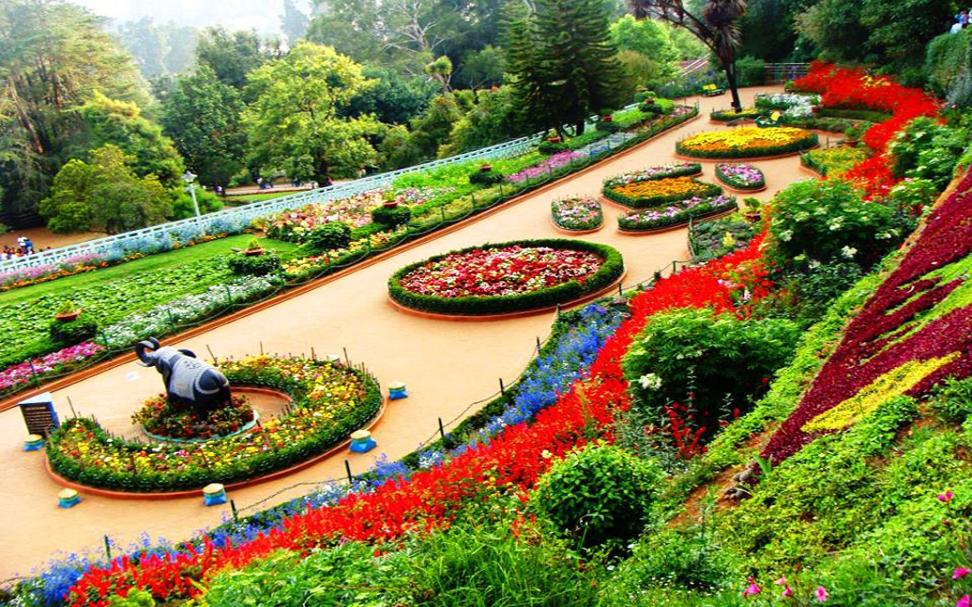 1920x1200 botanical garden ooty india desktop pc and mac for Wallpaper home india