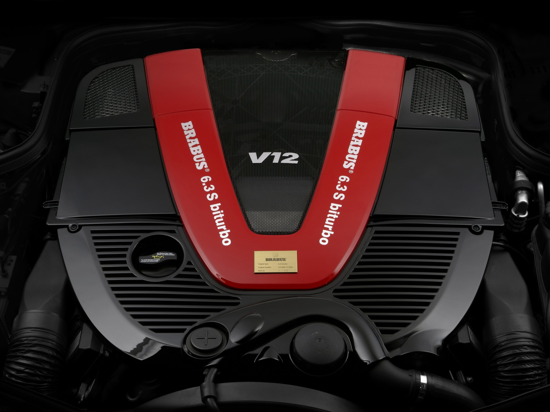 Brabus V Engine Wallpapers X on Mercedes Amg V12 Engine