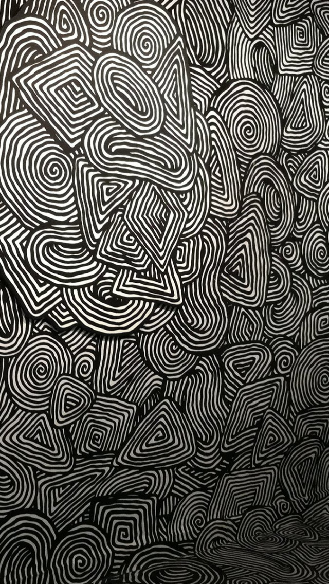 640x1136 Brain Teaser Psychedelic Iphone 5 Wallpaper