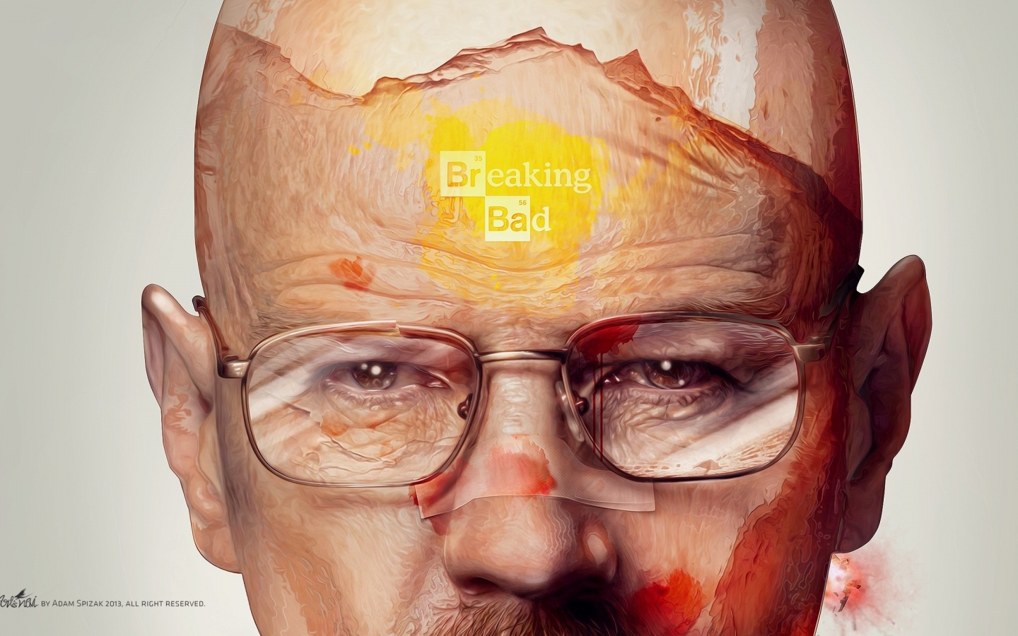 1440x900 Breaking Bad Artwork desktop PC and Mac wallpaper