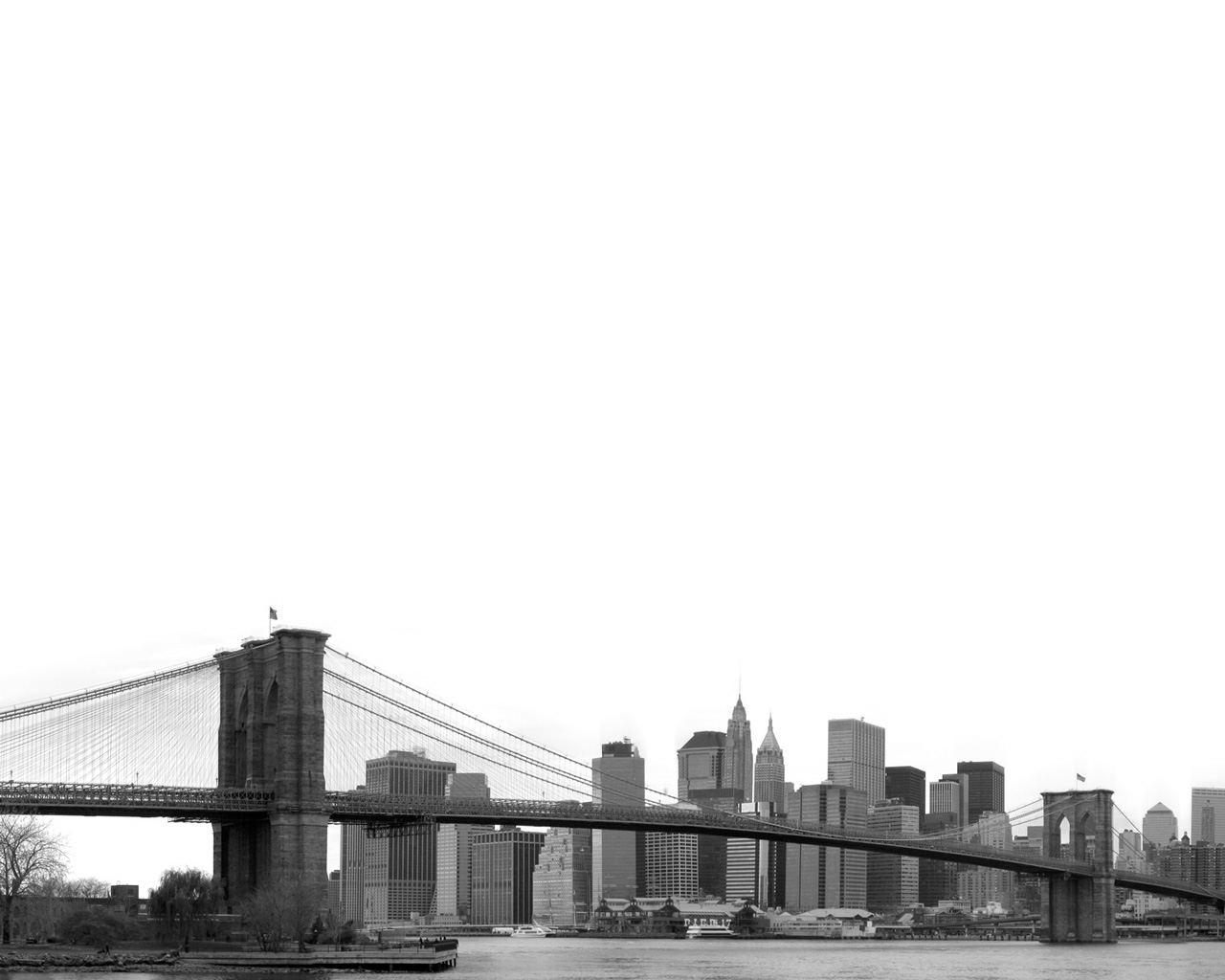 1280x1024 Brooklyn Bridge
