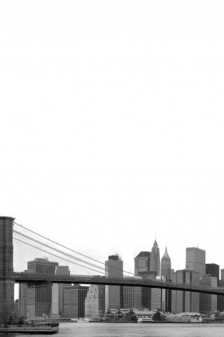 320x480 Brooklyn Bridge