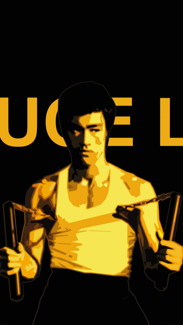 Bruce Lee Iphone Wallp...