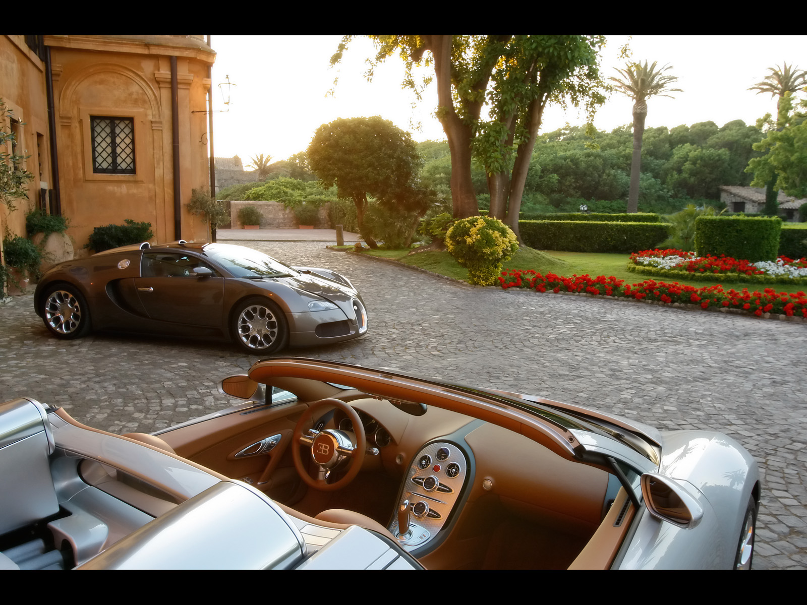 Image Bugatti Veyron Duo 2 Wallpapers And Stock Photos