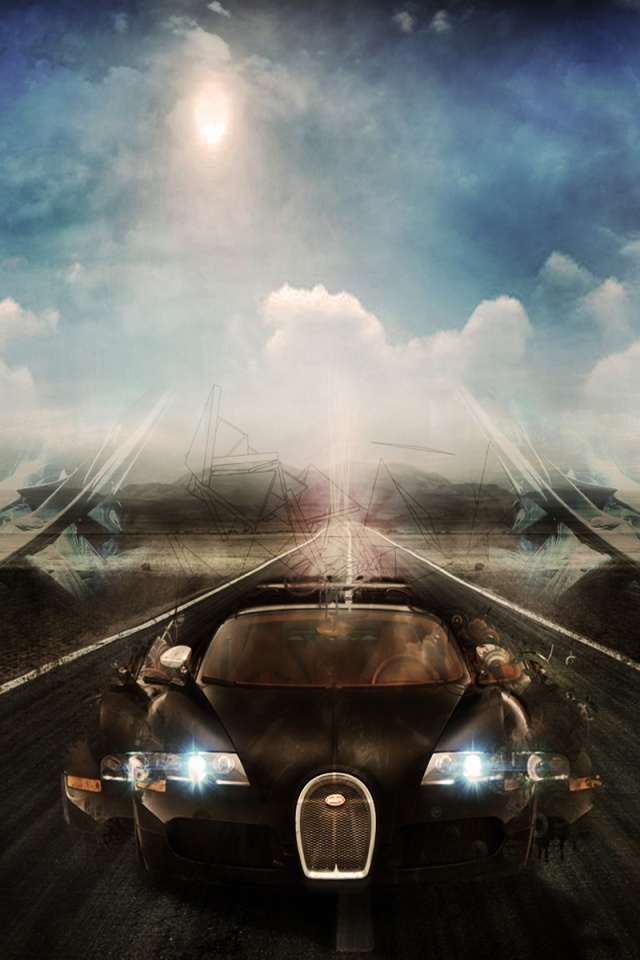 640x960 Bugatti Veyron Iphone 4 Wallpaper