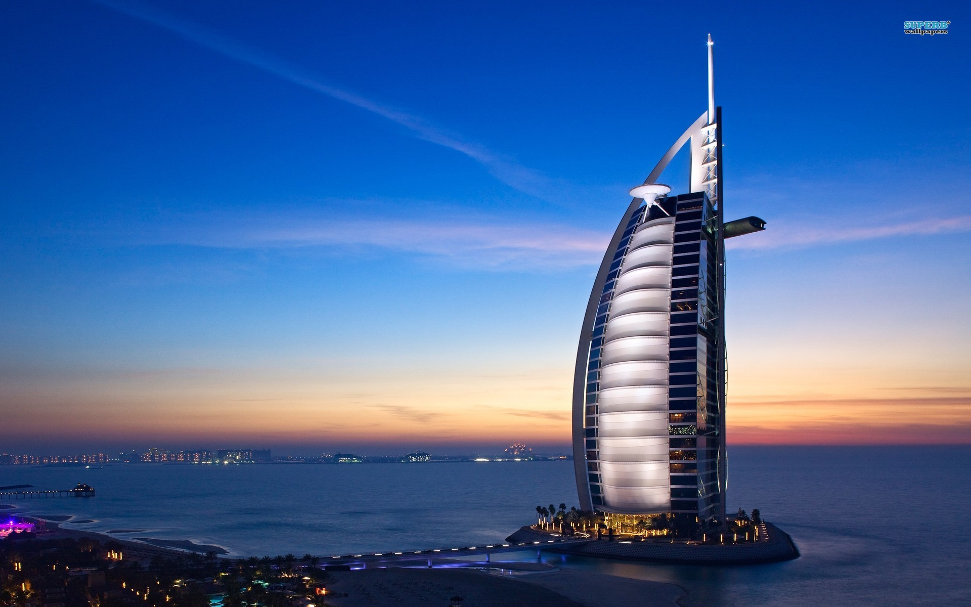 Burj al arab hotel dubai wallpapers burj al arab hotel for Hotel burj al arab