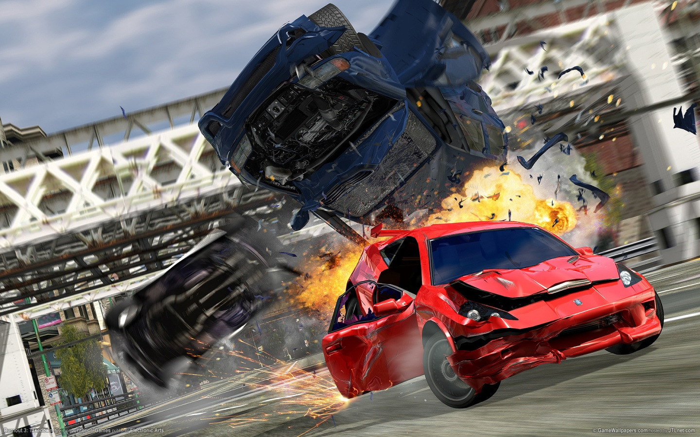 1440x900 Burnout 3: Takedown desktop PC and Mac wallpaper