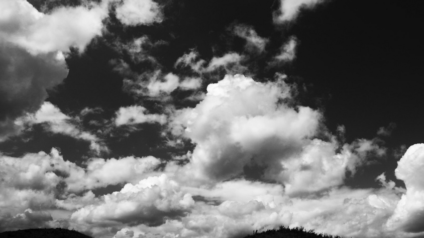 852x480 B&W Clouds