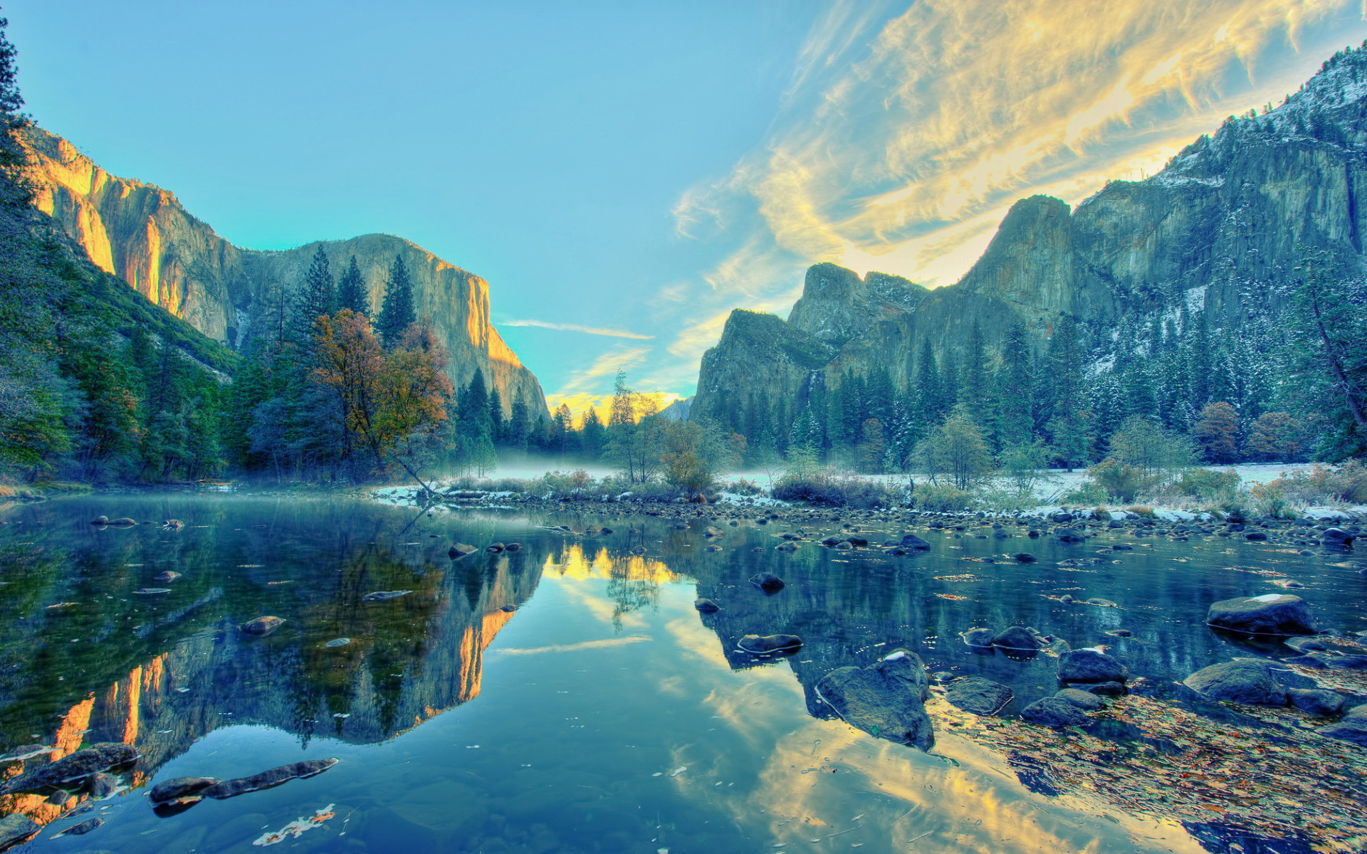 calming yosemite national park wallpapers 50006 1920x1200