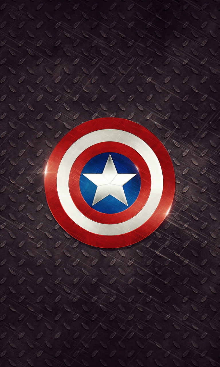 768x1280 Captain America Logo Lumia 920 Wallpaper