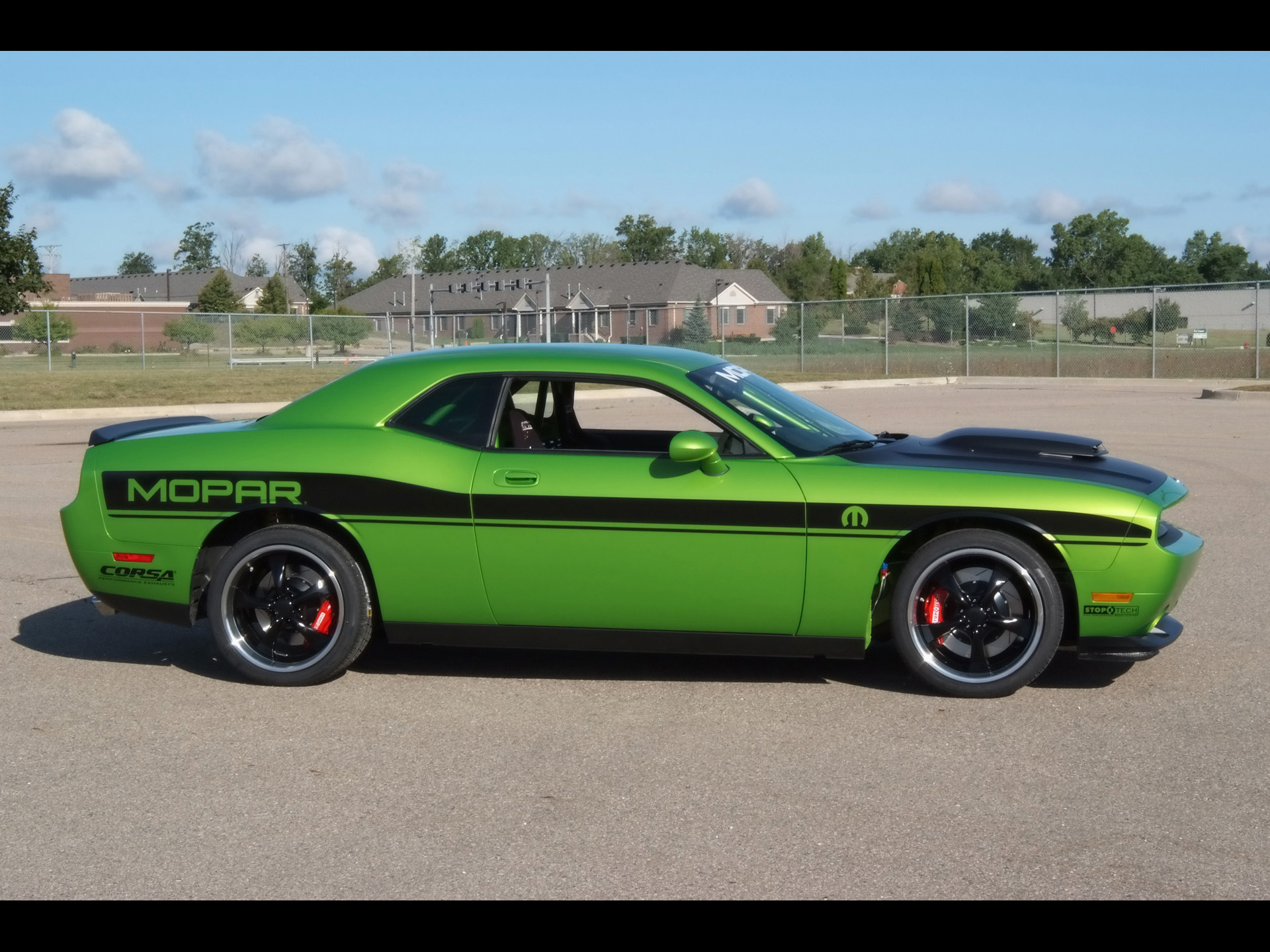 Challenger Side View Wallpapers Challenger Side View Stock Photos