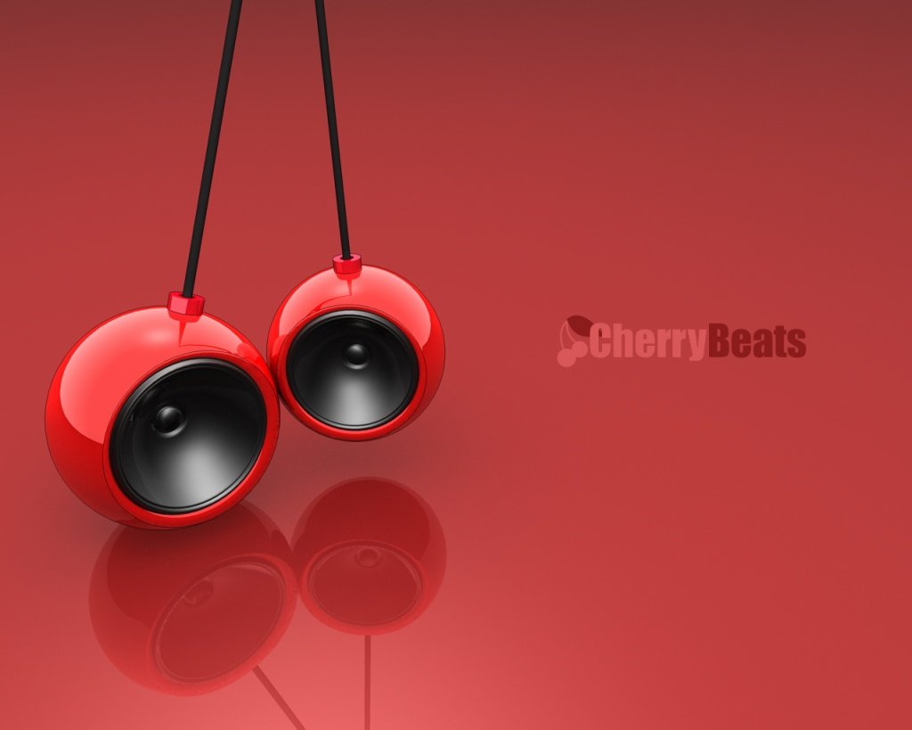 1024x768 Cherry beats desktop PC and Mac wallpaper