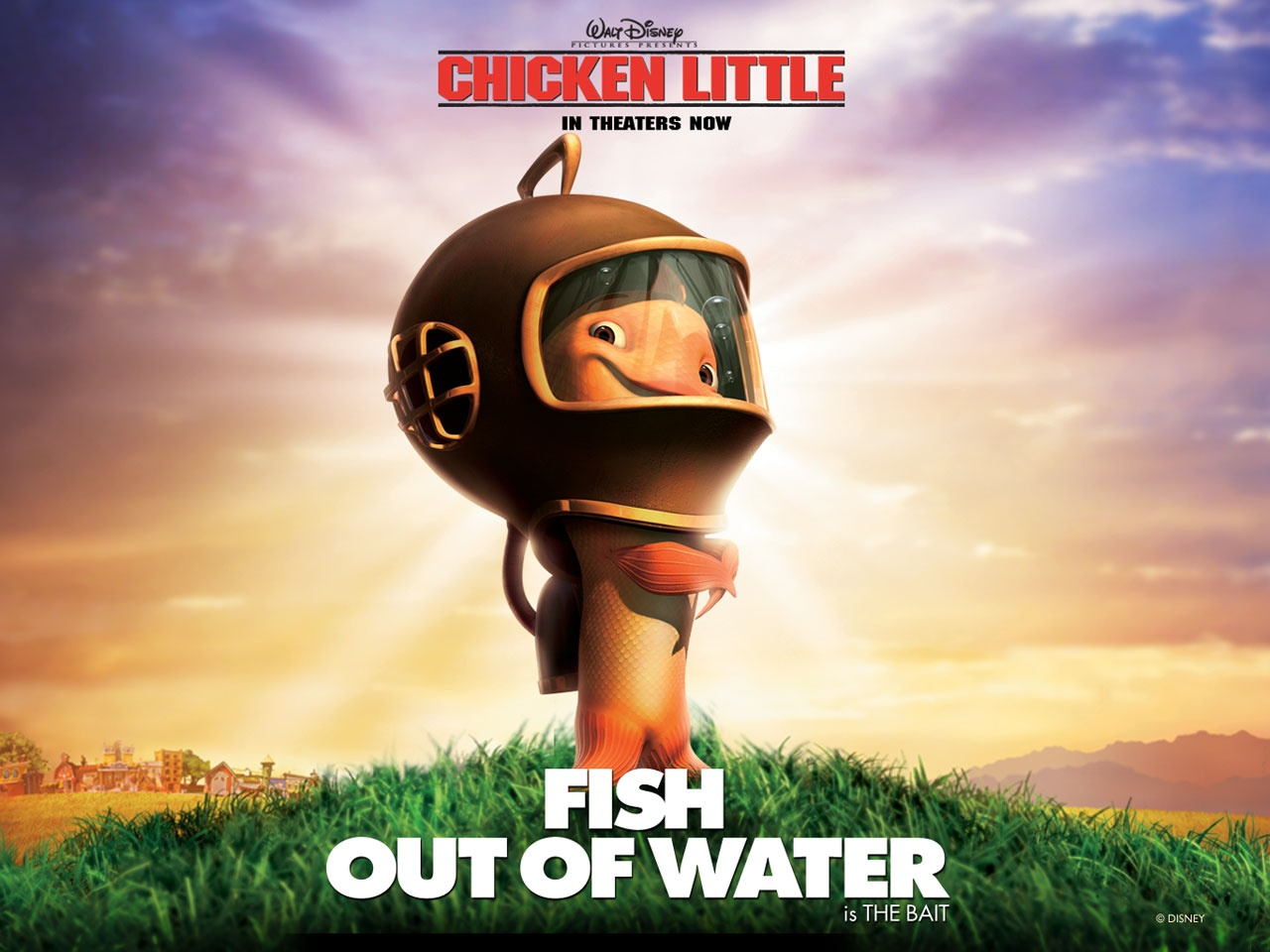 1280x960 chicken little fish desktop pc and mac wallpaper for Fish from chicken little