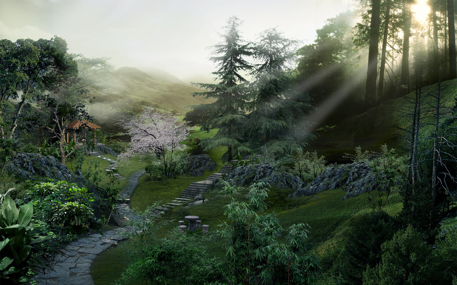 chinese forest wallpapers | chinese forest stock photos