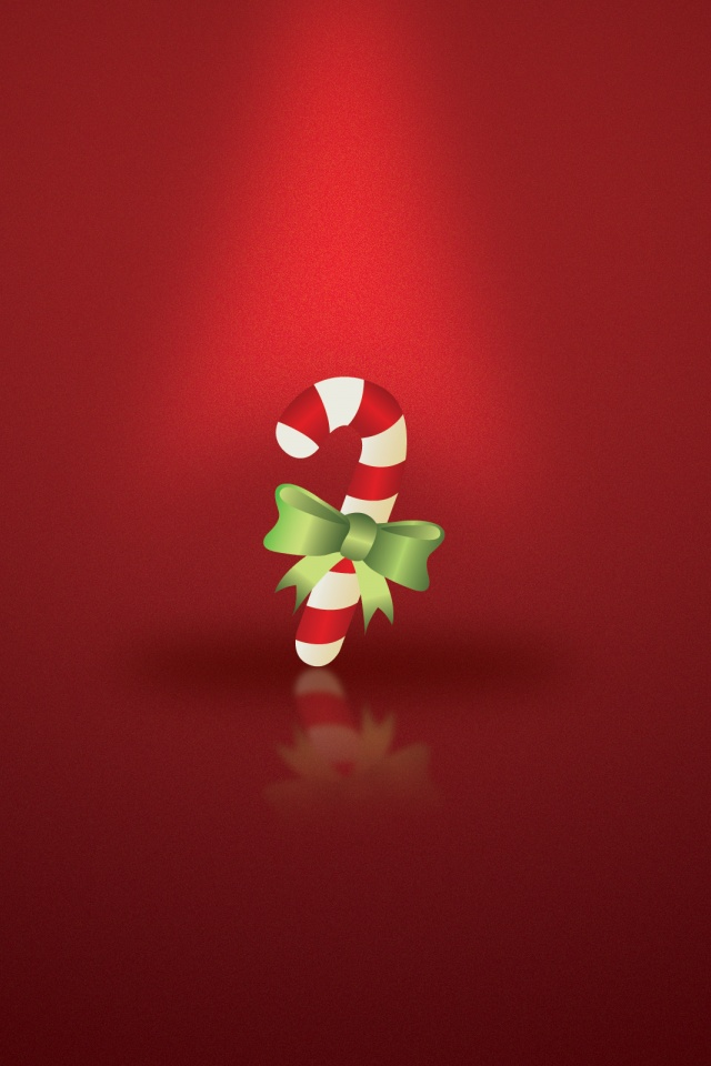 640x960 Christmas Candy Iphone 4 Wallpaper