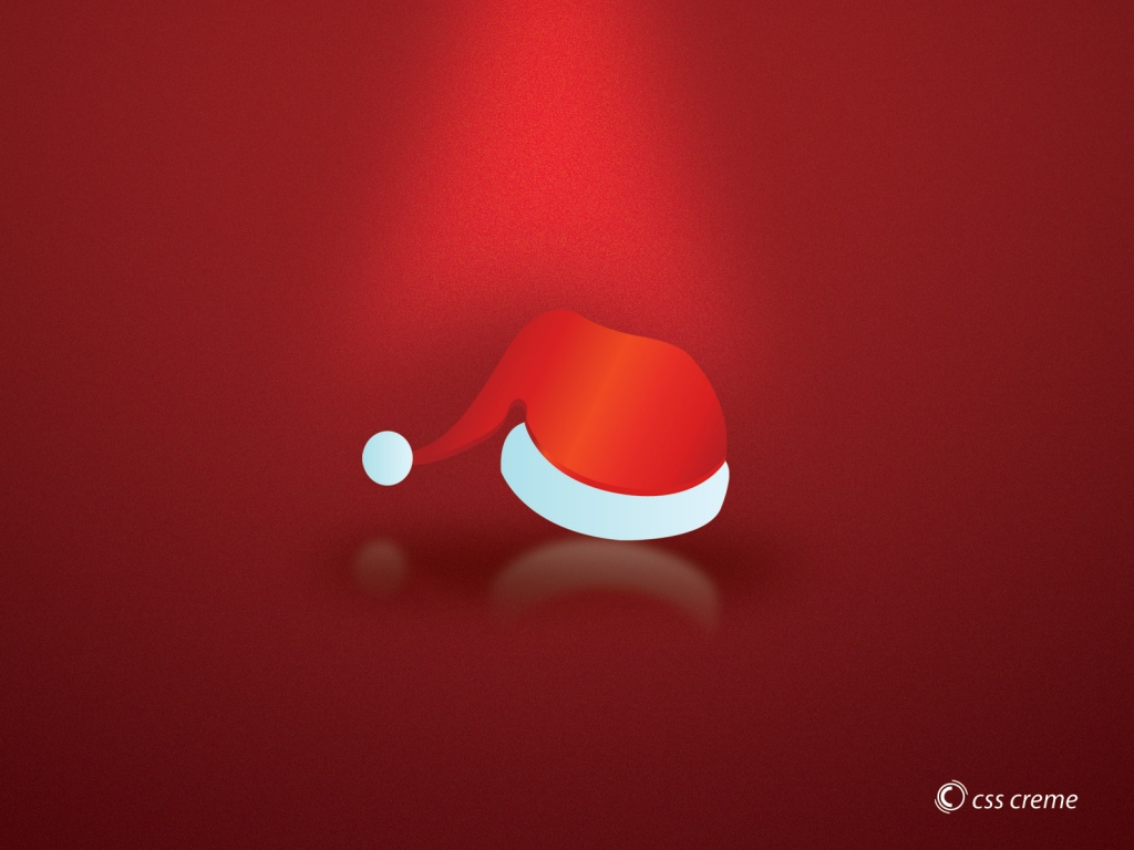 1024x768 christmas hat desktop pc and mac wallpaper