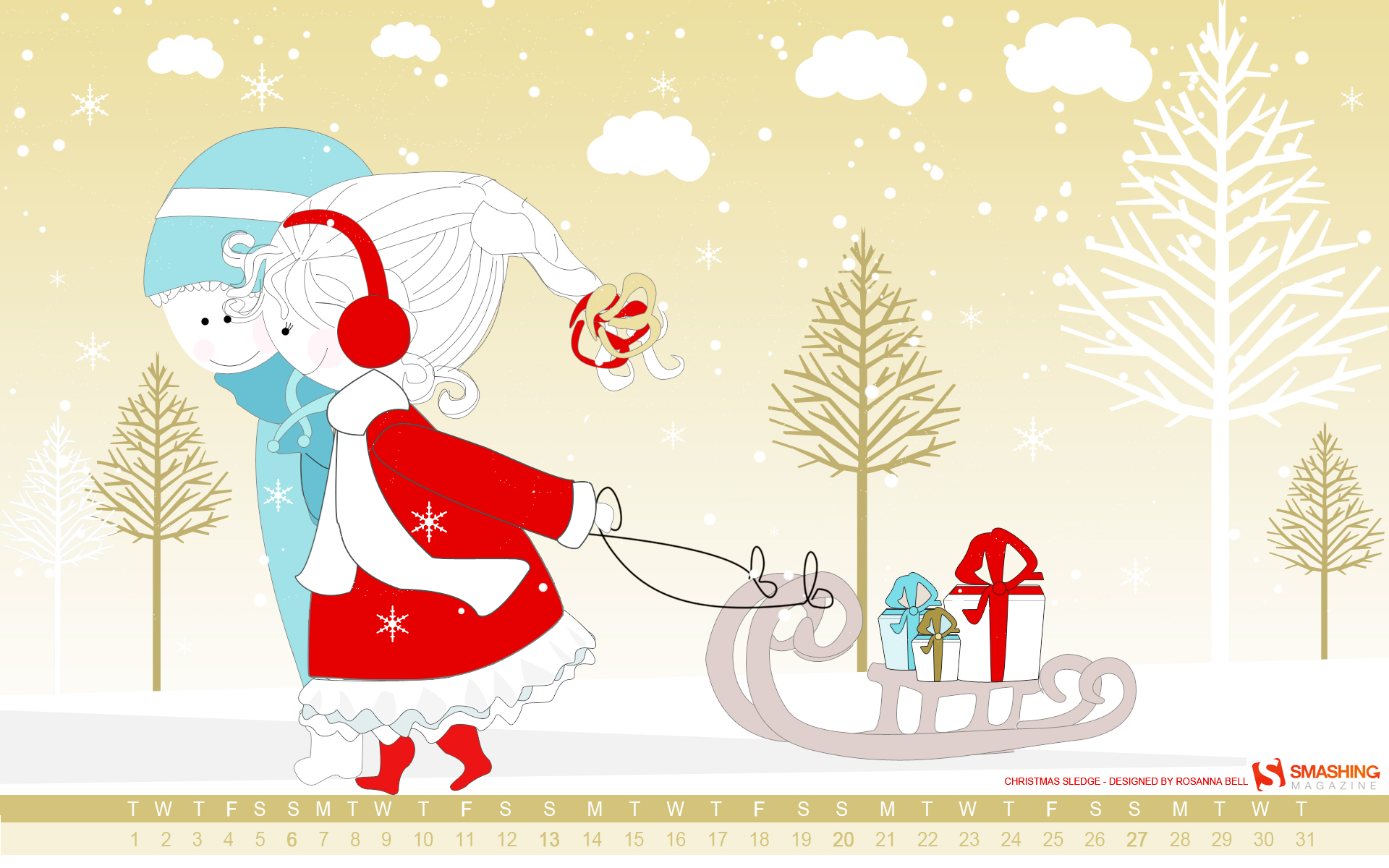 Christmas Sledge Wallpapers Stock Photos Net Tree Lights Wiring Diagram Image And