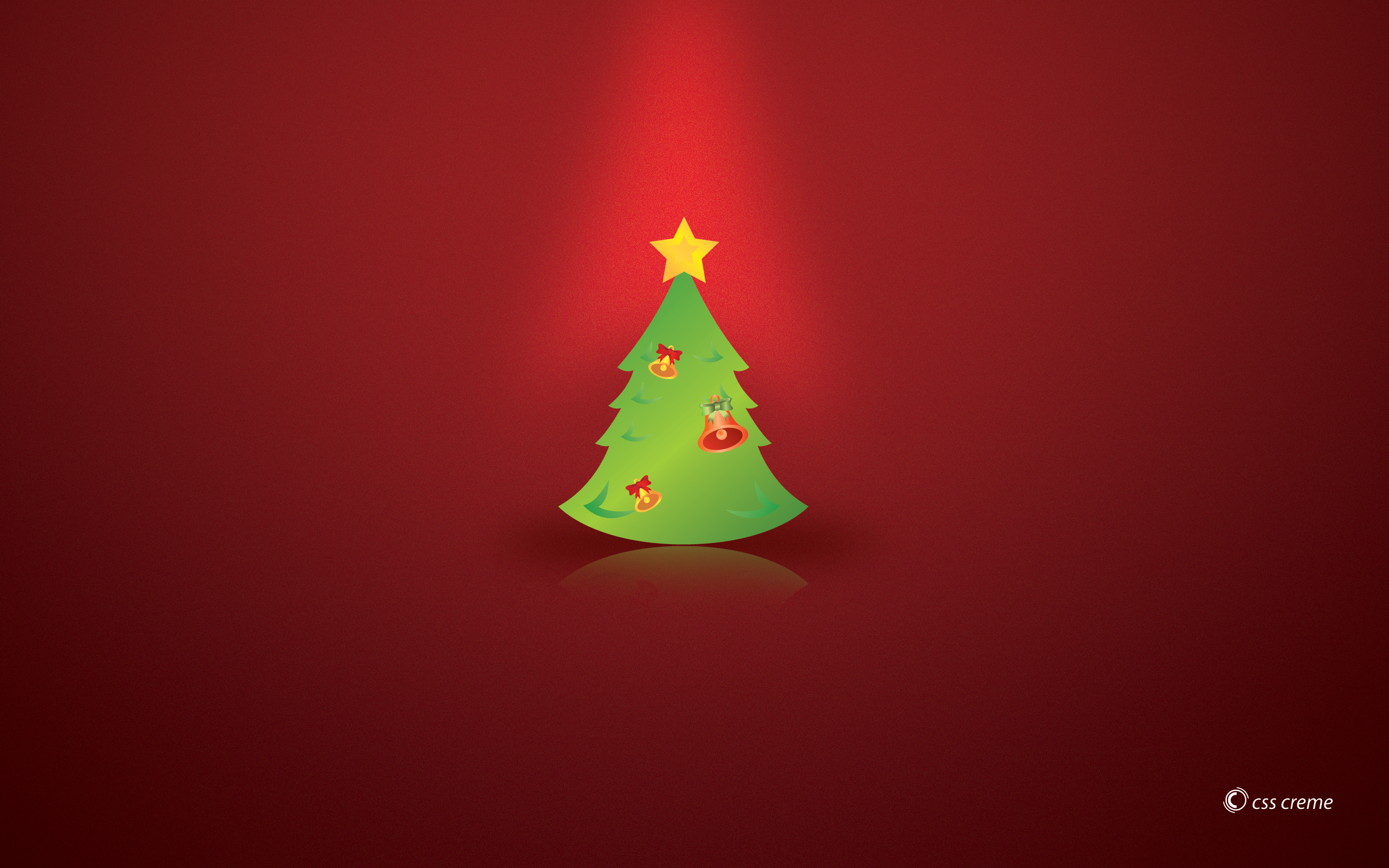 2560x1440 Christmas Tree Youtube Channel Cover