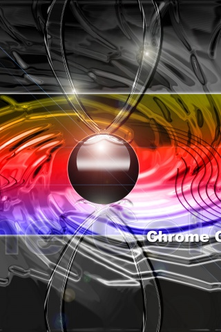 320x480 chrome color hd iphone 3g wallpaper - 3g wallpaper hd ...