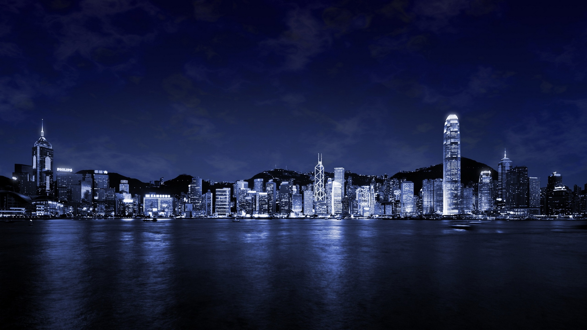 1920x1080 city at night desktop pc and mac wallpaper