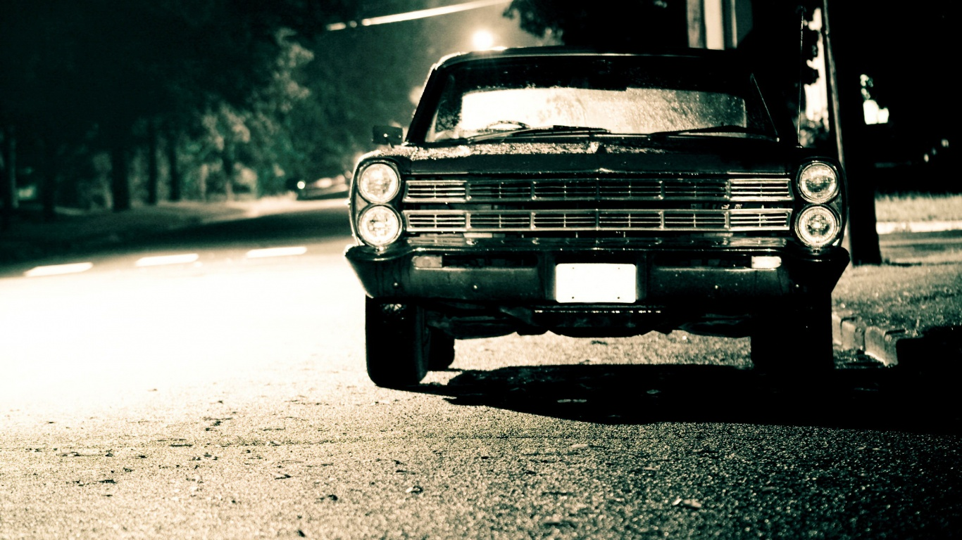 1366x768 Classic Car Desktop Pc And Mac Wallpaper