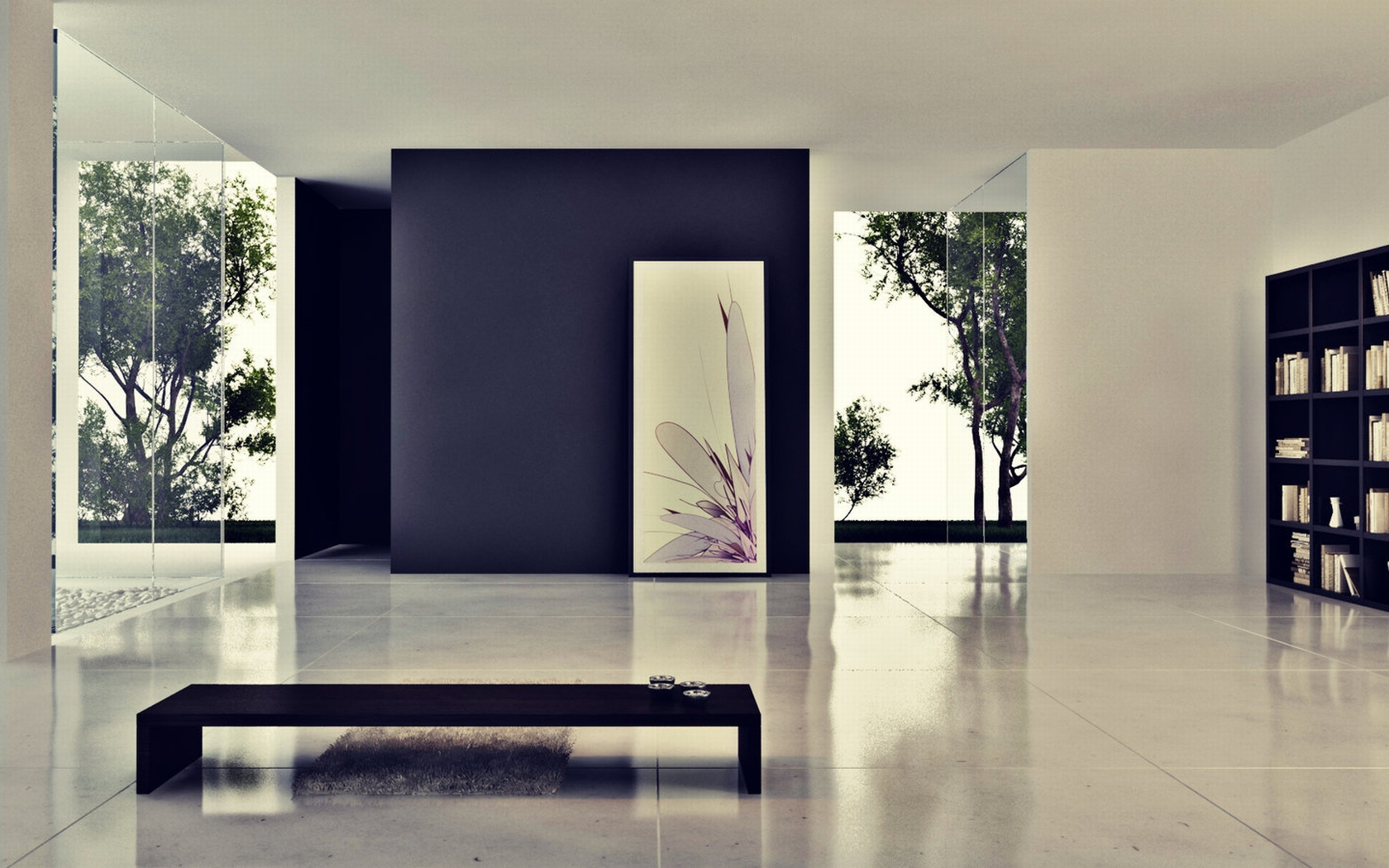 Clean Minimalistic Interior Wallpapers Clean