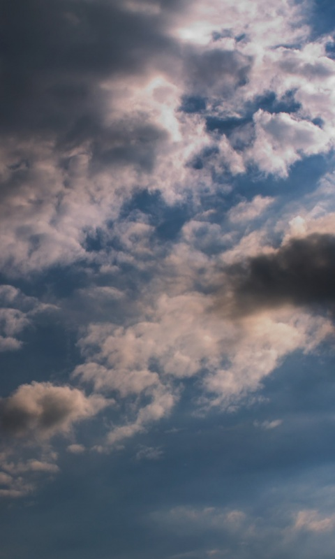 480x800 Clouds, sky, nature
