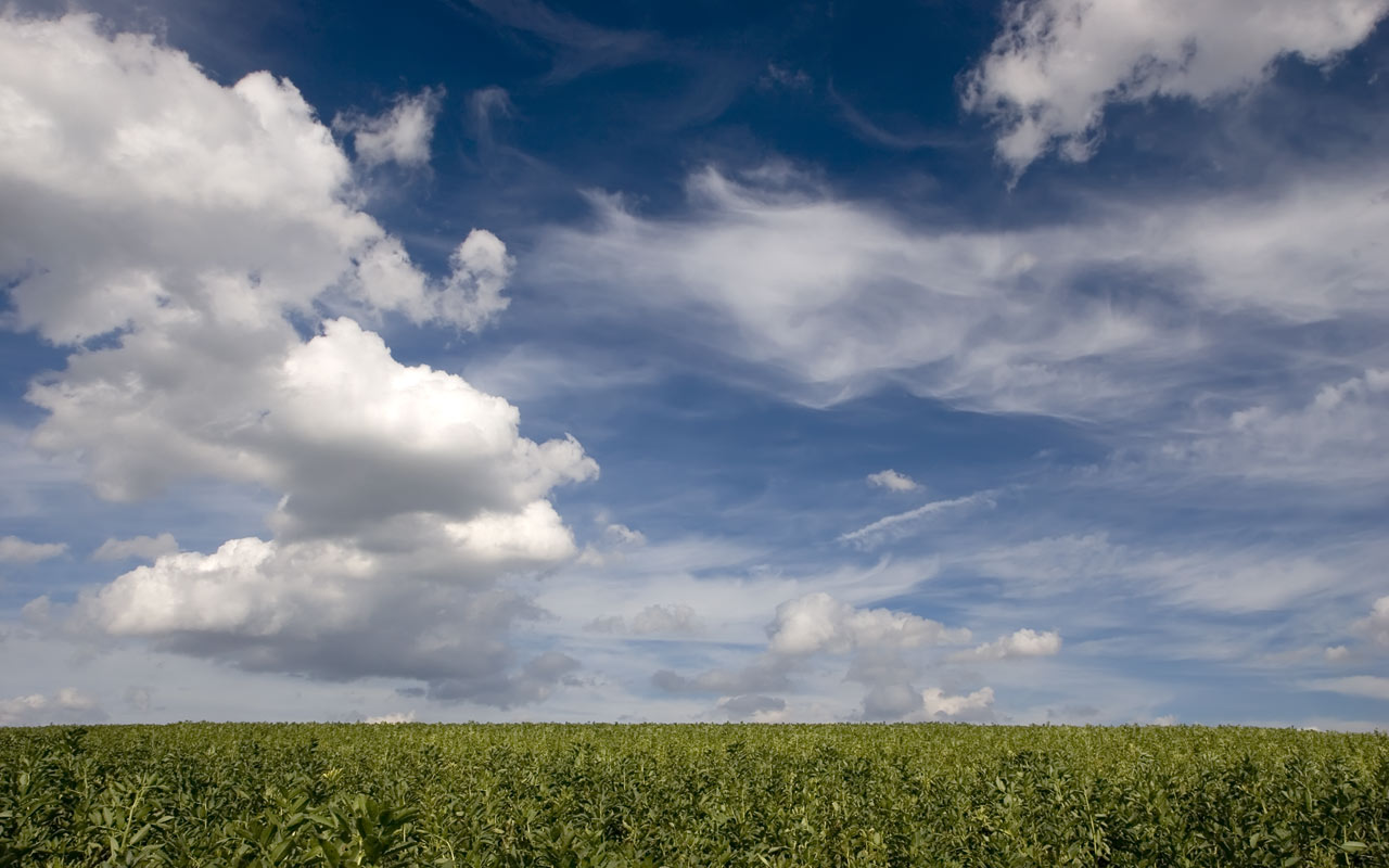 Sky Wallpapers: Clouds And Peas Stock Photos