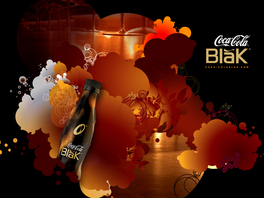 1024x768 Coca Cola bottle desktop PC and Mac wallpaper