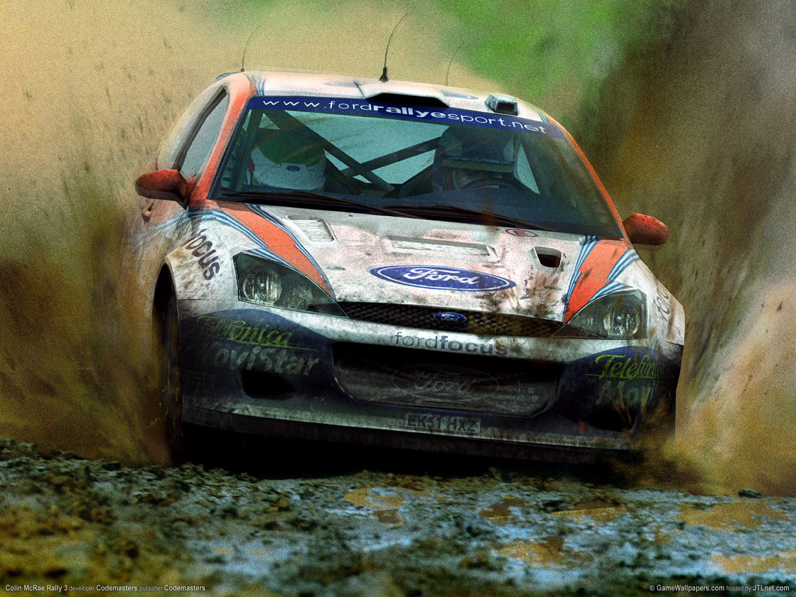 1600x1200 Colin McRae Rally 3 desktop PC and Mac wallpaper