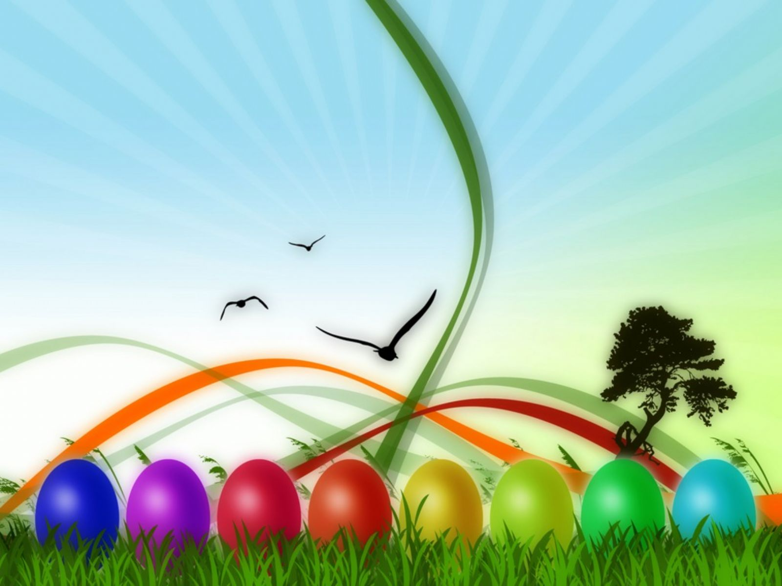 1600x1200 Colorful Easter desktop wallpapers and stock photos