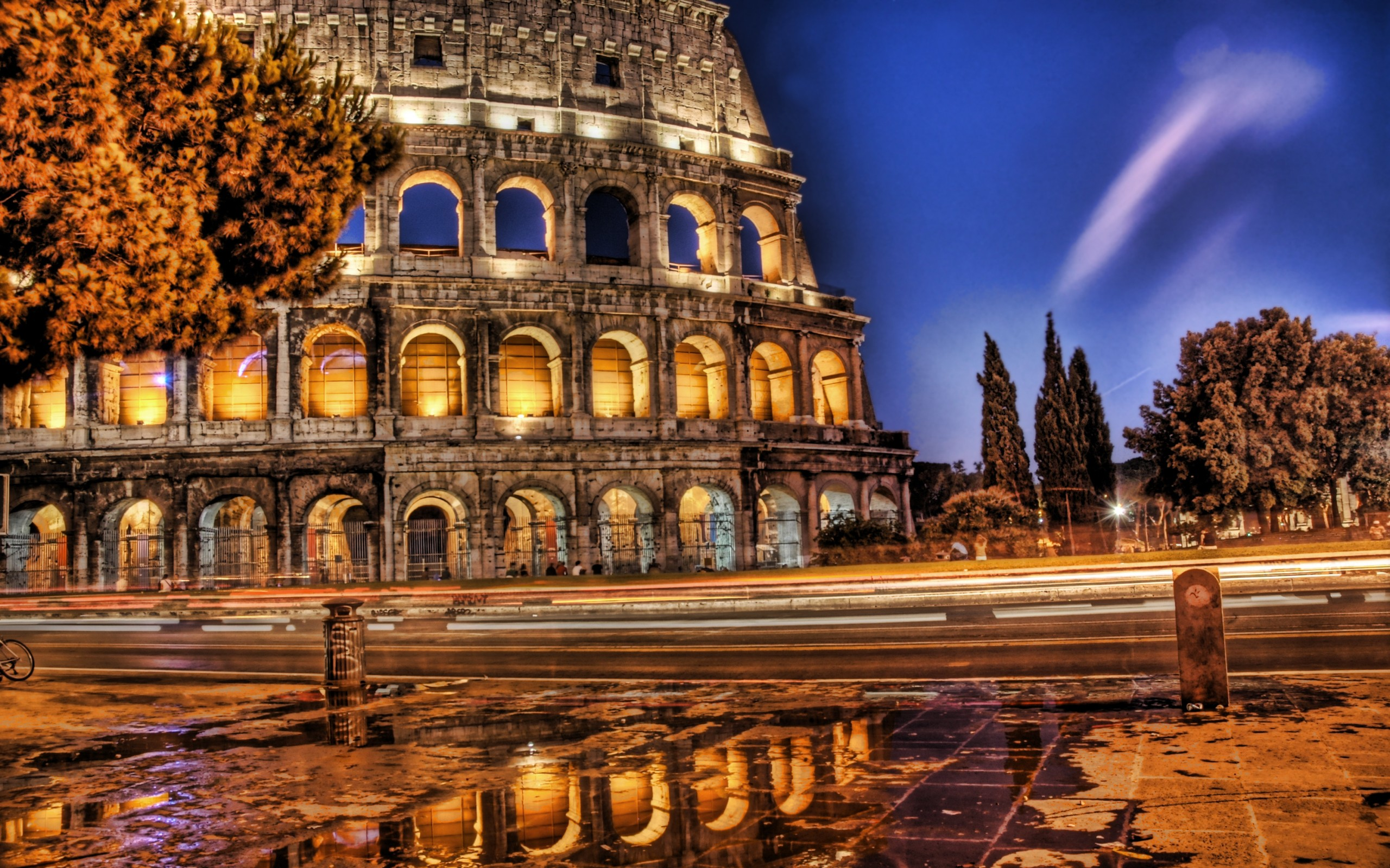 2560x1600 Colosseum in HDR desktop PC and Mac wallpaper HD Wide Wallpaper for Widescreen