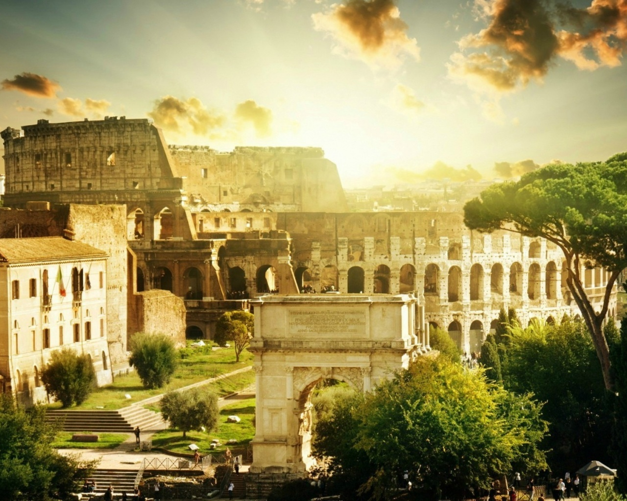 Cool Wallpaper Night Colosseum - colosseum-rome_wallpapers_43408_1280x1024  Picture.jpg